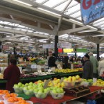 Leicester Market during the day