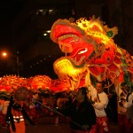 chinese dragon in show
