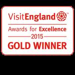 Gold Award Visit England