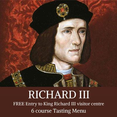 King Richard III Head Shot